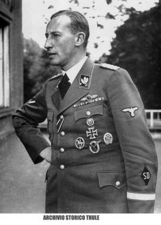 Reinhard Heydrich (via thuleitalia)