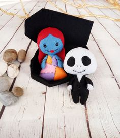 Halloween Decor Jack Skellington Sally Nightmare Before by BelkaUA