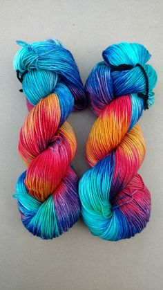 Quantum Sport- Hand dyed yarn, Sport weight, 100% Superwash Merino, 328 yards,