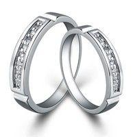 I think you'll like 18K White Gold Plated  *** 2 pcs. set ***  Art. RJ032 Couple Ring. Add it to your wishlist!  http://www.wish.com/c/52f7f043796f686910de7c83
