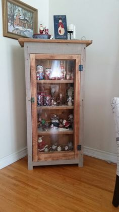 Storage cabinet Liquor Cabinet, Storage, Projects, Furniture, Home Decor, Log Projects, Homemade Home Decor, Larger, Home Furnishings