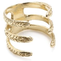 Ceres Cuff Ring: Recycled Brass