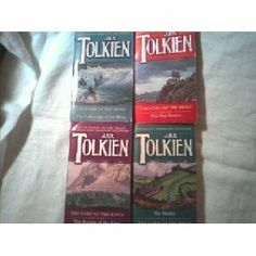 4lord of the rings, jrr tolkien, the hobbit and the trilogy-may have different coverart or sizes (lord of the rings, jrr tolkien, the hobbit...