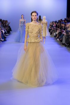 ELIE SAAB Haute Couture Spring-Summer 2014 The sleeves!