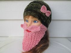 For fun loving Ladies - this is the perfect item to keep face warm and look the cutest ever!!!  It will keep your head and face warm and cozy