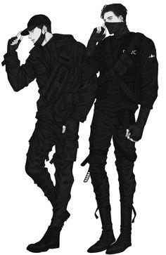 Left: Aldrin Henry Right: Altair Fenrir Handsome Anime Guys, Cute Anime Guys, Anime Boys, Aesthetic Art, Aesthetic Anime, Anime Style, Anime Boy Zeichnung, Japon Illustration, Manga Boy
