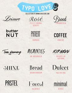 * Ann.meer: ​​Lovely Fonts # 6  ~~ {15 Free fonts w/ easy download links}