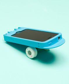 Broken Skateboard Deck iPhone Case