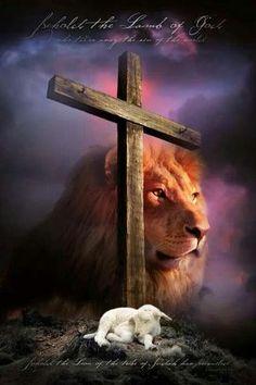 Lam of God Lion of Judah