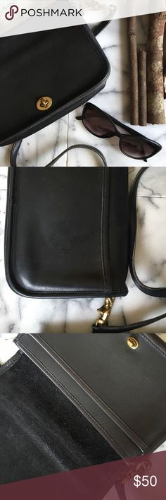 Coach Leather Satchel Timeless Black Leather Coach Satchel. Goes with any outfit! Coach Bags Satchels