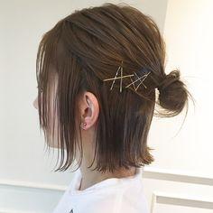 ストレートアイロンで大人のボブヘアに大変身♡ in 2020 Hair Photography, Hair Goals, Bobby Pins, Pixie, Short Hair Styles, Hair Care, Hair Color, Hair Beauty, Hair Accessories