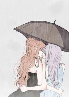 Lisa x Yukina Anime Girlxgirl, Yuri Anime, Chica Anime Manga, Anime Love, Kawaii Anime, Anime Art, Cute Lesbian Couples, Lesbian Art, Cute Anime Couples