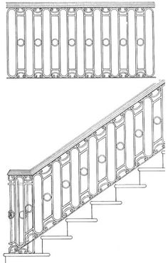 Art Factory - Stair Railing Designs ISR021
