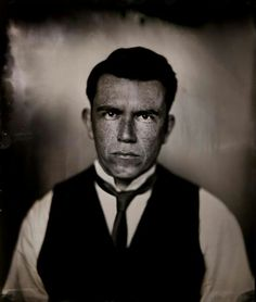 Wetplate portrait of David Coffey by Alex Sapienza at The Analogue Studio in Dublin, Ireland. More at facebook.com/theanaloguestudio