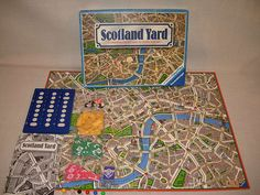 We played Scotland Yard as young adults. A game of deduction and cunning, it's quite a challenge and a lot of fun. Deduction, Young Adults, Free Games, Game Room, Board Games, All About Time, Scotland, Challenge, Yard