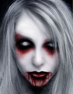 Halloween Makeup - Creepy Face