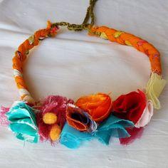 New item, a beautiful boho necklace