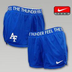 Nike Air Force Women's Mesh Shorts | ArmedForcesGear.com