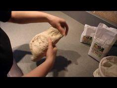 Kváskový chlebík - prekladanie a stočenie cesta do ošatky + pečenie - YouTube Youtube, Blog, Catering, Youtubers