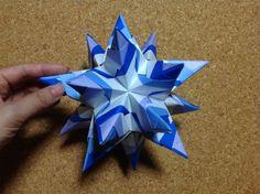origami おりがみ トゲトゲシャープローズの作り方