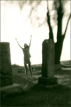 Cemetary 2 by Victoria Hederer Bell, via Flickr  @Lensbaby