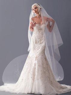 Blanka Matragi Haute Couture Wedding 2012