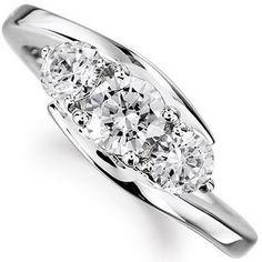 Gold Bezel Setting Diamond Ring / Dainty Diamond Ring / Thin Diamond Ring / Gold Diamond Ring / Four Stone Ring / Simple Diamond Ring - Fine Jewelry Ideas Simple Diamond Ring, 3 Stone Diamond Ring, Diamond Cluster Ring, Diamond Jewelry, Stone Rings, Gold Jewellery, Cute Engagement Rings, Trilogy Engagement Ring, Diamond Engagement Rings