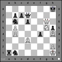 White Mates in 3. Sherwin vs Ronald Reichardt, Germany, 1998 www.chess-and-strategy.com #echecs #chess
