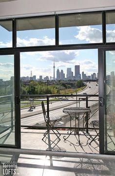 10 Right Ways to Design Floor to Ceiling Windows - Exposed Concrete, Polished Concrete, Concrete Floors, Toronto Lofts, Lofts For Rent, Bedroom Corner, Rooftop Terrace, Floor To Ceiling Windows, Open Concept