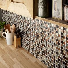 Cascade Glass & Stone Mix Mosaic 25x25mm Buy Now At Horncastle Tiles For Lowest UK prices!