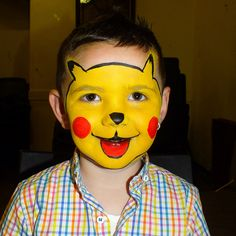 pikachu Face Painting | Flickr - Photo Sharing!