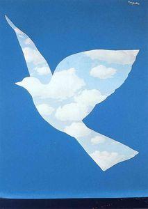 Image result for René Magritte l'oiseau bleu