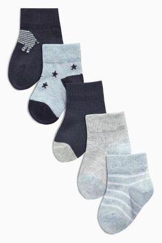 Kaufen Sie Socken mit Sternen und Streifen, Fünferpack (0–18Monate) heute online bei Next: Deutschland