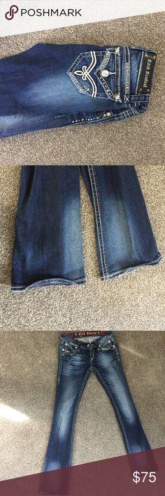 Rock revival Elaina boot cut Rock revival Elaina boot cut size 24 (slight stretch) Rock Revival Jeans Boot Cut