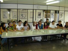 INRI com os estudantes da UNB