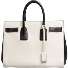 Saint Laurent Sac De Jour Carryall Bag ($2,750) ❤ liked on Polyvore featuring bags, handbags, tote bags, purses, bolsas, sacs, zip tote, zip tote bag, purse tote and shoulder strap purses