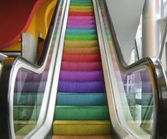 go up on a rainbow