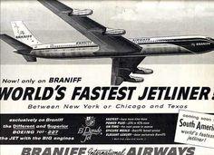 Braniff's Boeing 707-227 (1960)