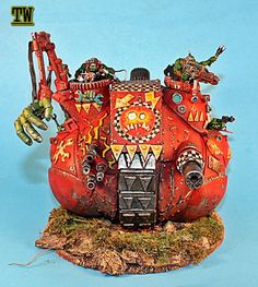 ork evil sunz red ball tank by billking on DeviantArt