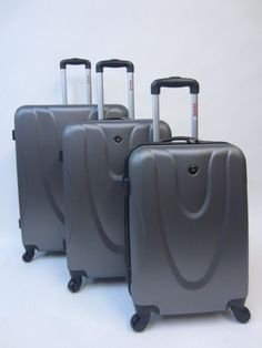 Swiss Travel Products 3 piece Luggage Spinner Set