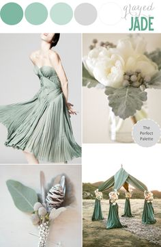 The Perfect Palette: Pantone Palette | Grayed Jade!