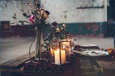 Dineren bij kaarslicht // Foto: Marije van der Leeuw // Girls of honour