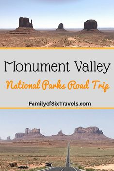 National Park Road Trip - Day 2: Four Corners, Forrest Gump Point & Monument Valley - Family of Six Travels