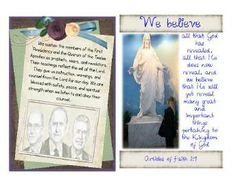 YW May - Prophets and Revelation, handout and scripture