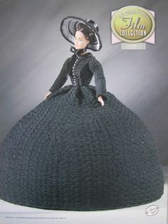 Annie's Attic The Piano Golden Age of Film Collection Crochet Bed Doll Pattern