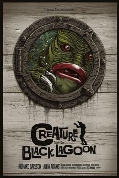 Creature From the Black Lagoon (1954) [928x1392]