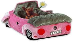 Barkswaggin Beetle Sports Car Dog Bed