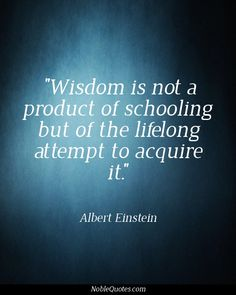 Wisdom Quotes | http://noblequotes.com/