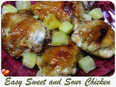 Try these two delicious Easy Sweet and Sour Chicken local style recipes. Get more local style recipes here.