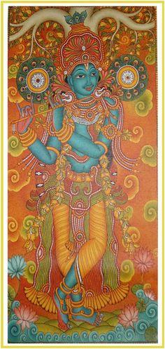 Krishna with murali